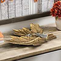 Metal Fall Leaf Tray