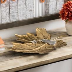 Metal Fall Leaf Tray