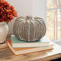 Terracotta Pumpkin, 5 in.