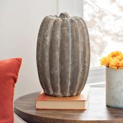 Terracotta Pumpkin, 10 in.