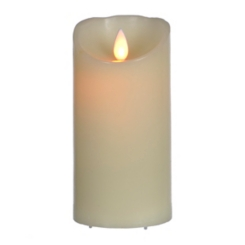 Flickering Flame LED Candle, 6 in.