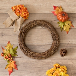 DIY Fall Wreath Set