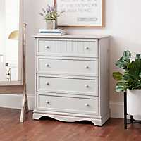Sydney 4-Drawer Gray Chest