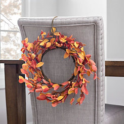 Neutral Foam Berry Wreath