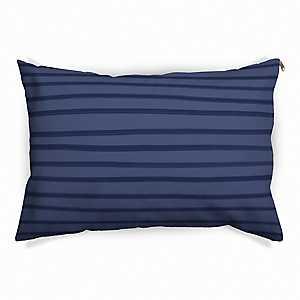 Blue Stripe Pet Bed