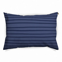 Blue Stripe Pet Bed