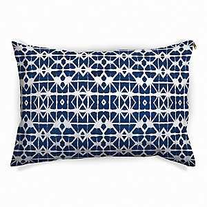 Blue Shibori Pet Bed