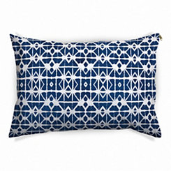 Blue Shibori Pet Bed