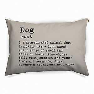 Tan Dog Definition Pet Bed