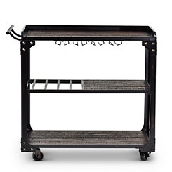 Sherlock Industrial Serving Cart