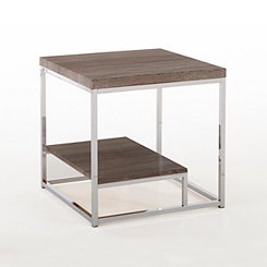 Lucia Chrome Accent Table