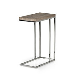 Lucia Chrome Chairside Table