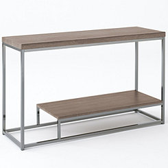 Lucia Chrome Console Table