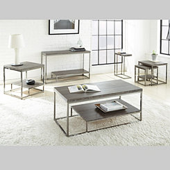 Lucia Nickel Coffee Table
