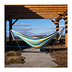 Cayo Reef Double Hammock with Stand