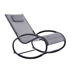 Gray and Matte Black Wave Rocker
