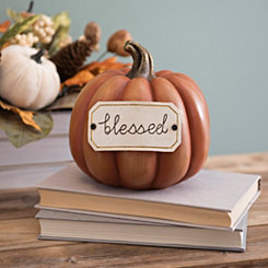 Blessed Tag Orange Pumpkin