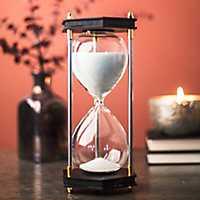 Black Hexagonal Hourglass