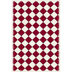 Red Diamond Indoor/Outdoor Area Rug, 4x6