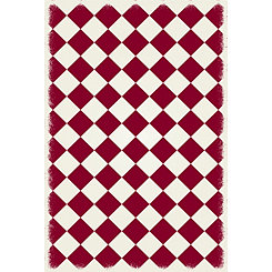 Red Diamond Indoor/Outdoor Area Rug, 4x6