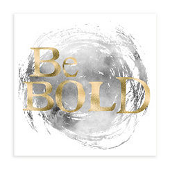 Be Bold I Canvas Art Print