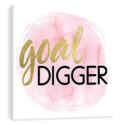 Goal Digger Canvas Art Print