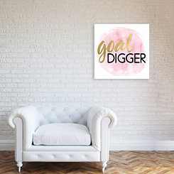 Goal Digger Canvas Art Print