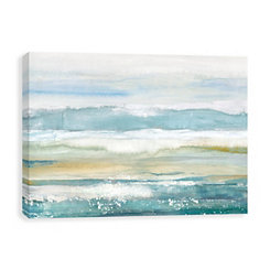 Turquoise Pursuit Canvas Art Print