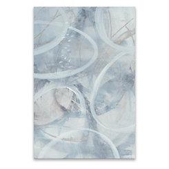 Float I Hand Embellished Canvas Art Print