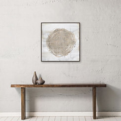 Deep Motion Framed Canvas Art Print