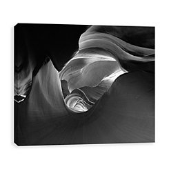 Inner Space Coated Canvas Art Print