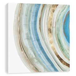 Marbled Ring Canvas Art Print