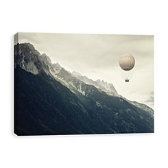 Fantastic Journey Coated Canvas Art Print