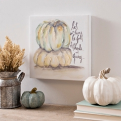 Be Full Of Thanks Canvas Art