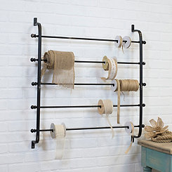 Wall Mounted Ribbon Storage Rack