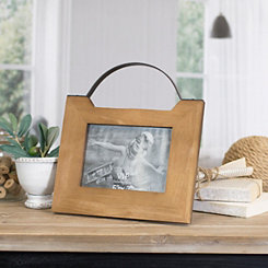 Tabletop Picture Frame with Decorative Handle, 5x7