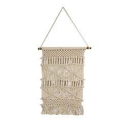 Natural Geometric Macrame Wall Hanging