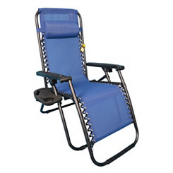Blue Sling Anti-Gravity Chair