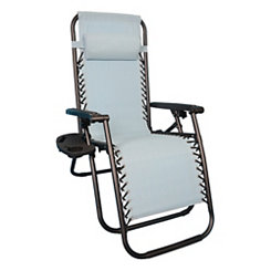 Seafoam Blue Sling Anti-Gravity Chair