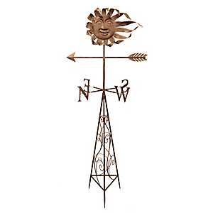 Bronze Sun Metal Weathervane