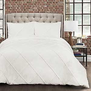 Diamond Pom Pom 3-pc. Full/Queen Comforter Set