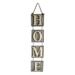 Home Hanging Metal Plaque