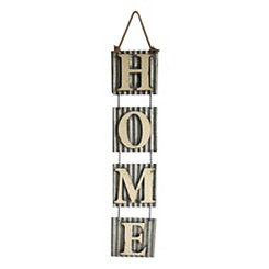 Home Hanging Metal Plaque
