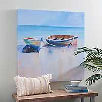 Pair of Boats Canvas Art Print