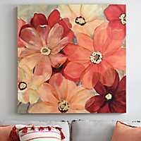 Large Sunshine Splash Canvas Art Print