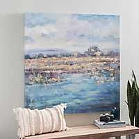Swampland Canvas Art Print