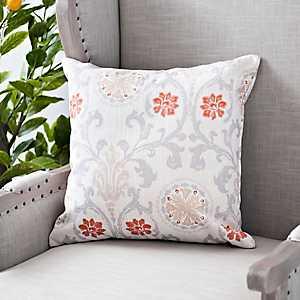 Gray Linen Melody Pillow