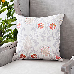 Gray Linen Melody Pillow