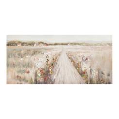 Path To Home Canvas Art Print