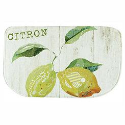 Citron Memory Foam Kitchen Mat
